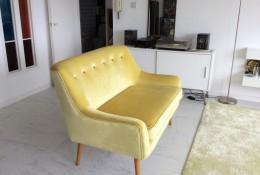 Retro and modern sofa design combined: The Blaise Sofa