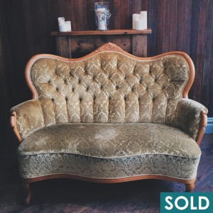 Gold Sofa - SOLD