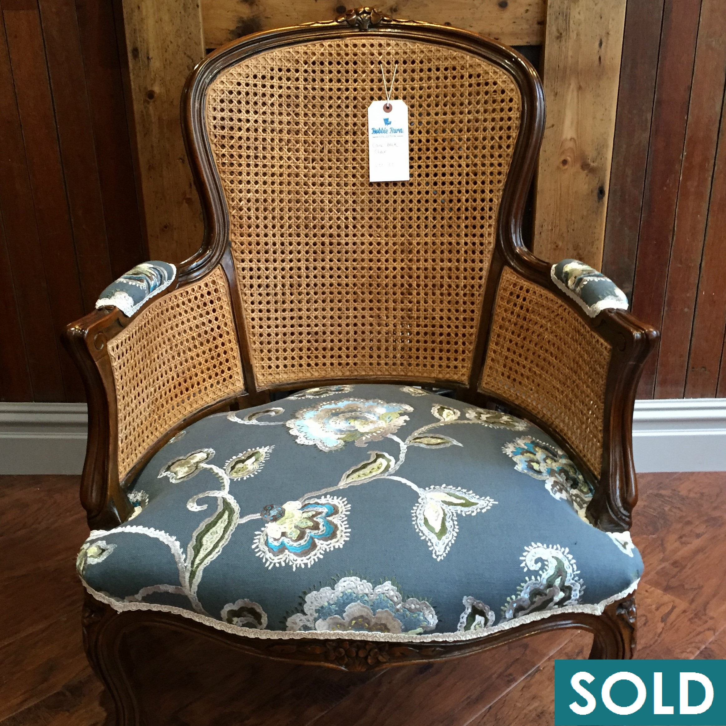 Rattan back square SOLD