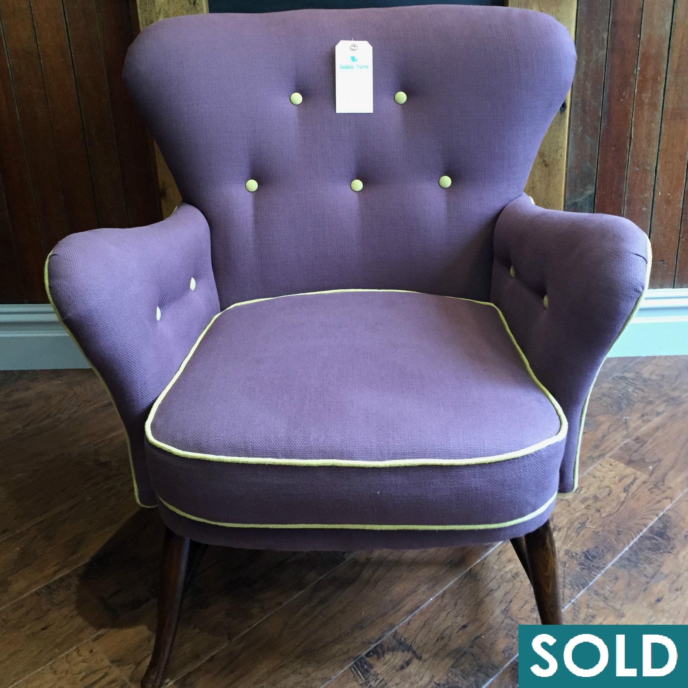 ercol purple square SOLD